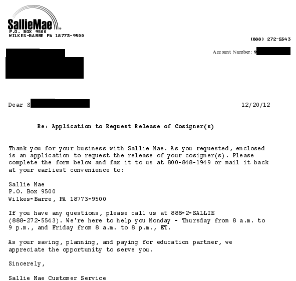 sallie-mae-application-to-request-release-of-cosigner